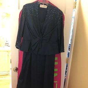Cameron Blake mother of the bride dress size 16